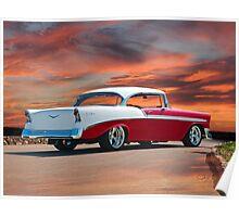1956 Chevrolet Bel Air Hardtop I Poster
