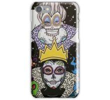 Sugar Skull Villains iPhone Case/Skin