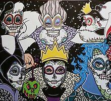 Sugar Skull Villains by Katherine  OGane