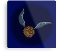 Golden Snitch -  sweater effect Metal Print