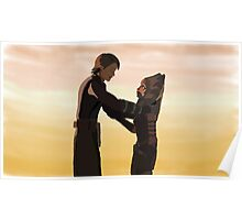 Anakin and Ahsoka Poster