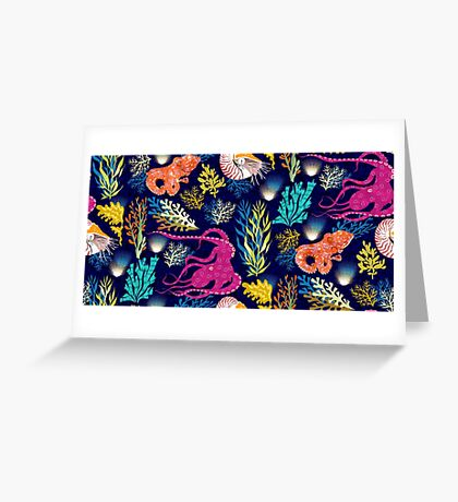 Cephalopods Greeting Card