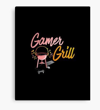 Gamer Grill Canvas Print
