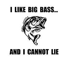 Big Bass Photographic Print