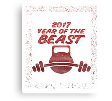 2017 Year of the Beast Canvas Print