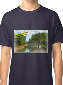 No Fixed Plans Travel Quote Collection  Classic T-Shirt