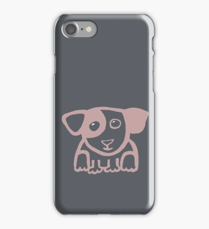 Cute puppy 1 - light iPhone Case/Skin