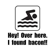 Found Bacon Photographic Print