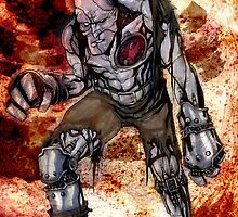 Frankenstein steampunk by Marco D. Carrillo