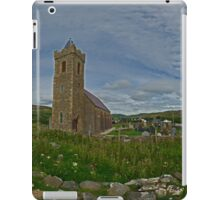 Glencolmcille Panorama with Church iPad Case/Skin