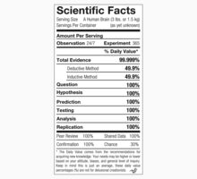 Scientific Facts are Nutritious by Tai's Tees Baby Tee