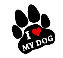 I Heart My Dog by TheBestStore