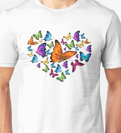 Butterfly - Heart  Unisex T-Shirt