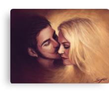Goodbye Kiss Canvas Print