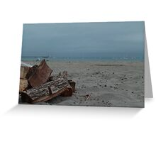 Beach Relaxation Greeting Card