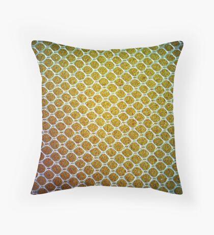 Sponge Yellow Throw Pillow