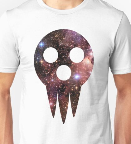 soul eater- lord death mask space Unisex T-Shirt