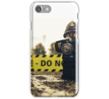 Lego Police Crime Scene iPhone Case/Skin