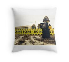 Lego Police Crime Scene Throw Pillow