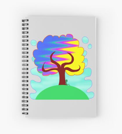 the most enchanted tree Spiral Notebook