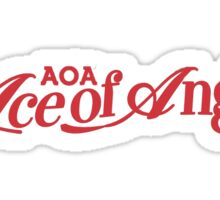 AOA logo Sticker