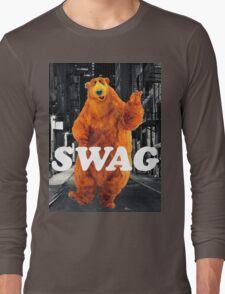 Bear in the hoodSwag Long Sleeve T-Shirt