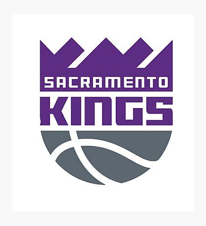 Sacramento Kings. Photographic Print