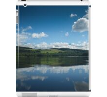 My outdoor pool in SW Scotland iPad Case/Skin