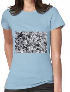 Abstract expressionism pattern 3 Womens Fitted T-Shirt