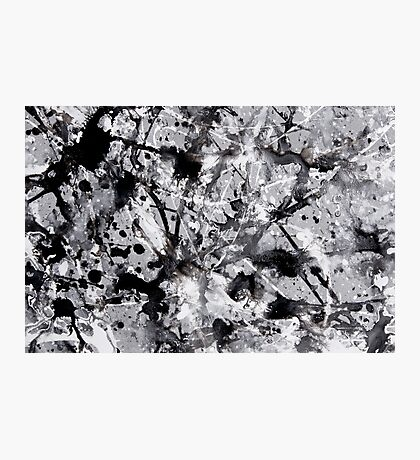 Abstract expressionism pattern 3 Photographic Print