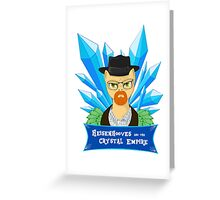 Heisenhooves - The Crystal Empire Greeting Card