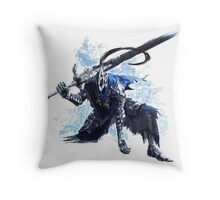 Artorias out of the abyss! Throw Pillow