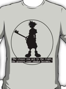 Kingdom Hearts Sora T-Shirt - Black Design T-Shirt