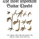 The Most Important Guitar Chords by theshirtshops