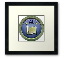 Glitch Achievement alakol completist Framed Print