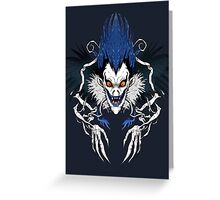 Dark Notes Greeting Card