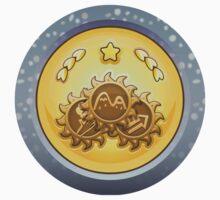 Glitch Achievement all giant emblems Kids Tee