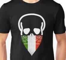 Italy Skull Gangster Unisex T-Shirt