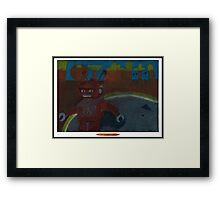 Creeping rOBOT Framed Print