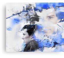 """Not A Psychopath""- Sherlock Holmes Canvas Print"