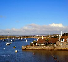 Topsham View by Charmiene Maxwell-Batten