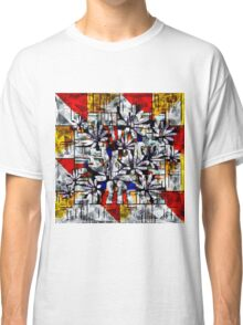 Daisy Abstract after Mondrian Classic T-Shirt