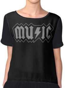 Music Chiffon Top