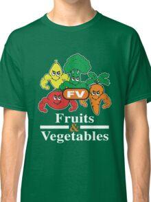 Fruits and Vegetables T-Shirts Renato Laranja Classic T-Shirt
