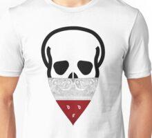 Poland Skull Gangster black Unisex T-Shirt