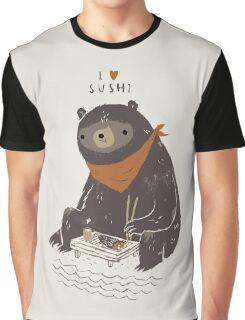 sushi bear Graphic T-Shirt