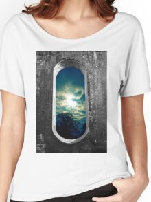 Window Through the Wall Women's Relaxed Fit T-Shirt