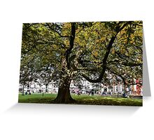 Cathedral Square ~ Exeter Greeting Card