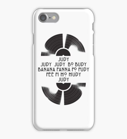 Judy  - The name game iPhone Case/Skin