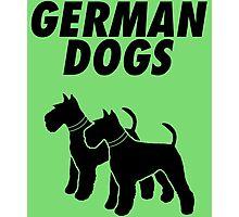 German Dogs Photographic Print